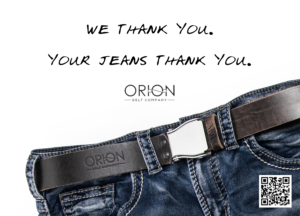 Love your Orion Belt Company belt