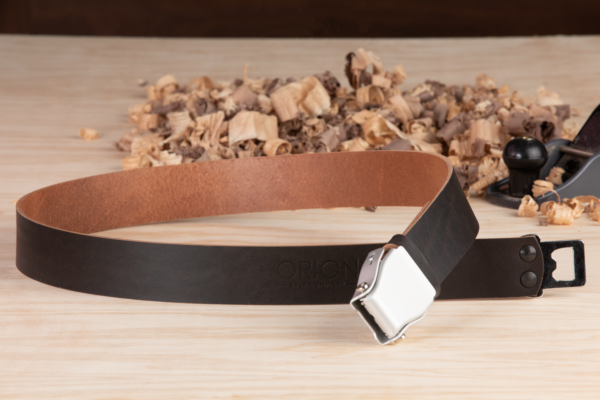 Handcrafted Leather Belt - Bella Rustic - Orion Belt Company