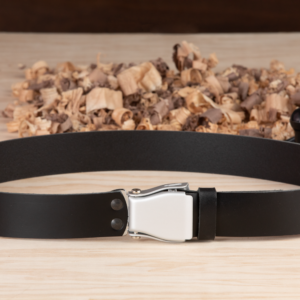 Handcrafted Leather Belt - Black Mamba - Orion Belt Company